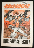 Comixscene #1 - Doc Savage Issue - 1972 Signed by Steranko Comic Art