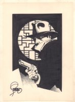 The Shadow Commission - Signed Comic Art