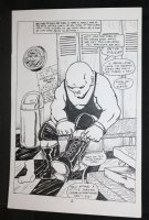 King Kong Bundy #? p.2 - Suiting Up  Comic Art