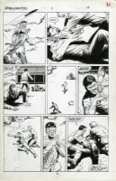 Shadowmasters #1 p.19 - All Action - 1989 Comic Art
