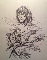 Tarzan Piece - LA - Signed Comic Art