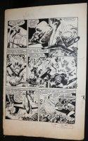 All-New Comics? Black Cat Large Art Golden Age p.7 - Black Cat Action - 1940's Comic Art