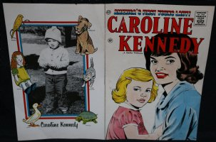 Caroline Kennedy #1 Cover Production Proof - 1961  Comic Art