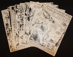 Tales of Suspense #92 Vintage Production STATS - Iron Man in 'Within the Vastness of Viet Nam!' Complete 12 Page Story - 1967 Comic Art