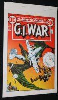 G.I. War Tales #1 Cover Proof, 1 B&W, and 5 Color Seps - Ross Andru & Mike Esposito Cover - 1973 Comic Art