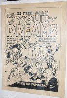 Strange World of Your Dreams #v1#2 Cover STAT - Joe Simon / Jack Kirby - 1952 Comic Art