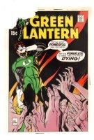 Green Lantern #71 Cover Proof - 1969 Comic Art