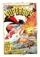Superboy #167 Cover Proof - 1970 Comic Art