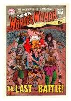 Wonder Woman #184 Cover Proof - 1969 Comic Art