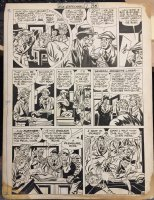 Boy Explorers Comics #1 p.10 - LA - 'Broadway...street of dreams...' - 1946 Comic Art