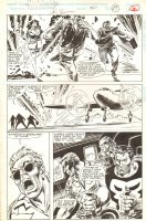 The Punisher: War Zone #30 p.19 - Flying a Plane - 1994 Signed Comic Art