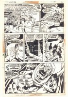 Fantastic Four #140 p.16 - F4 and Great Annihilus - 1973