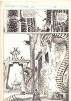 Savage Sword of Conan #191 p.24 - Serpent Temple Splash - 1991  Comic Art