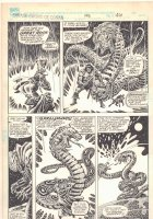 Savage Sword of Conan #193 p.46 - Awesome Serpent Magician - 1992  Comic Art