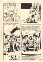 Kull the Conqueror #1 p.48 - Kull the King End Page - 1983  Comic Art