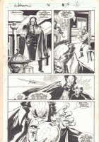 Wolverine #16 p.14 - Assassination Attempt - 1989  Comic Art