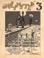 Unlimited #3 Cover Recreation 1968 LA (Will Eisner Spirit) Comic Art