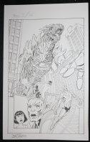 Trio #3 p.16 - Dragon Splash - 2012 Signed Comic Art