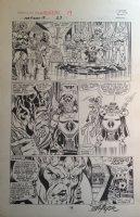 Fantastic Four Annual #19 p.23 - LA - Skull Queen - 1985 Signed Comic Art