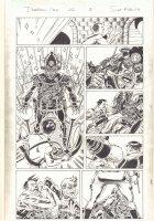 Deadpool #26 p.2 - Hitler Fights Time Traveler - 2014 Signed Comic Art