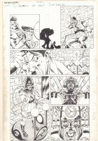 Deadpool #26 p.3 - Hitler vs. Time Traveler - 2014 Signed Comic Art