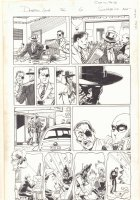 Deadpool #26 p.6 - Nick Fury and Wade Wilson in the 1950s - Adolf Hitler as Failed Painter - 2014 Signed Comic Art
