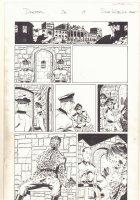 Deadpool #26 p.19 - Adolf Hitler Bullet Ridden in the Bunker - 2014 Signed Comic Art