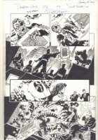 Deadpool #28 p.14 - Deadpool and Shiklah vs. The Hand - 2014 Signed Comic Art