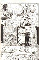 Avengers Next #5 p.6 - Iron Man Mark 1 - 2007 Signed Comic Art