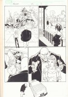 Marvel Knights Spider-Man #15 p.5 - Absorbing Man - 2005 Signed Comic Art