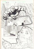 Marvel Knights Spider-Man #16 p.1 - Absorbing Man - 2005 Signed Comic Art