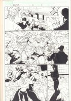Marvel Knights Spider-Man #16 p.3 - Absorbing Man Action - 2005 Signed Comic Art