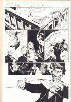 Marvel Knights Spider-Man #17 p.20 - Spidey Action - 2005  Comic Art