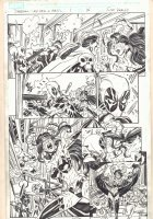Deadpool: Last Days of Magic #1 pgs. 15 - Doctor Voodoo - Deadpool and Shiklah Kiss - 2016 Comic Art