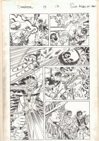Deadpool #12 p.13 - Pimp Deadpool and Luke Cage - 2015 Signed Comic Art