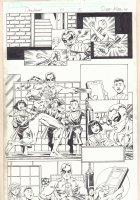 Deadpool #14 p.5 - Iron Fist - 2013 Signed Comic Art