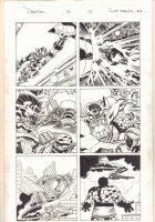 Deadpool #20 p.12 - Kirby Monster & the Thing - 2014 Signed Comic Art