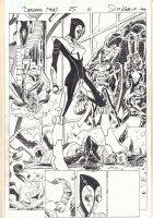 Deadpool #25 p.21 - Son of Satan and Man-Thing - 2014 Comic Art