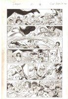 Deadpool #13 p.16 - Deadpool, Iron Fist, & Power Man 1970's Action - 2013 Signed Comic Art