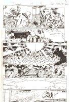 Deadpool #14 p.9 - Deadpool vs. the White Man - Iron Fist App - 2013 Signed Comic Art