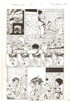 Deadpool #26 p.1 - Hitler Goes Crazy in the Bunker - 2014 Signed Comic Art