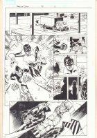 American Dream #3 p.11 - Red Queen - 2008 Signed Comic Art