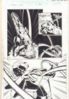 Avengers United #1 p.34 - Ant-Man vs. Ultron - Signed Comic Art