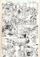 Deadpool #14 p.8 - Iron Fist - 2013 Comic Art