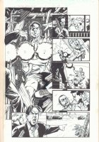 Punisher: Official Movie Adaptation #1 p.19 - 2004 Signed Comic Art