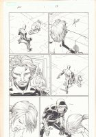 Avengers vs. X-Men #1 p.17 - Magneto, White Queen, and Cyclops training Hope Summers - 2012  Comic Art
