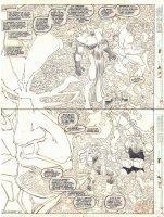 Uncanny X-Men #301 pgs 4 & 5 - Trevor Fitzroy Vertical DPS - 1993  Comic Art
