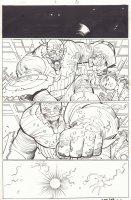 Captain America #8 p.1 - Dimension Z  Captain America - 2013 Signed Comic Art