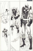 Eternals #6 p.16 - Yellowjacket (Hank Pym) - 2007 Signed Comic Art