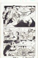 Thor #12 p.24 - Destroyer, Odin, & Others Action! - 1999 Signed - RETURNED! Comic Art